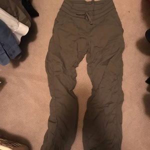 Lululemon lined drawstring pants